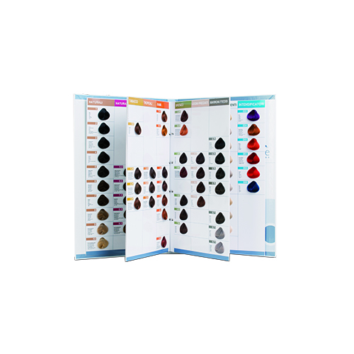 Ring binder Color Chart 102 colors