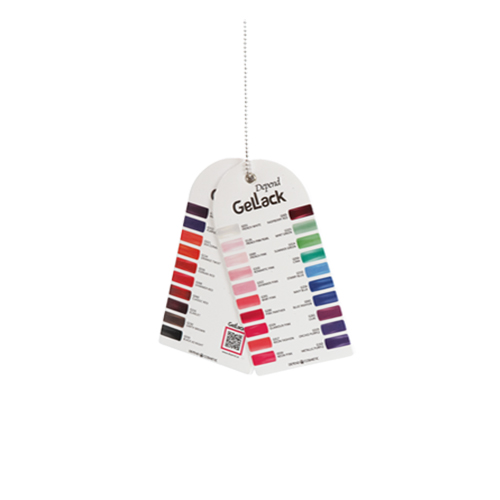 Laminil nail polish Mini color charts