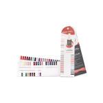 Standard Laminil nail polish color chart