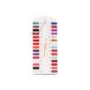 Mini nail polish color charts
