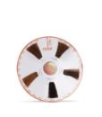Cartella colore per parrucchieri circolare con 5 ciocche