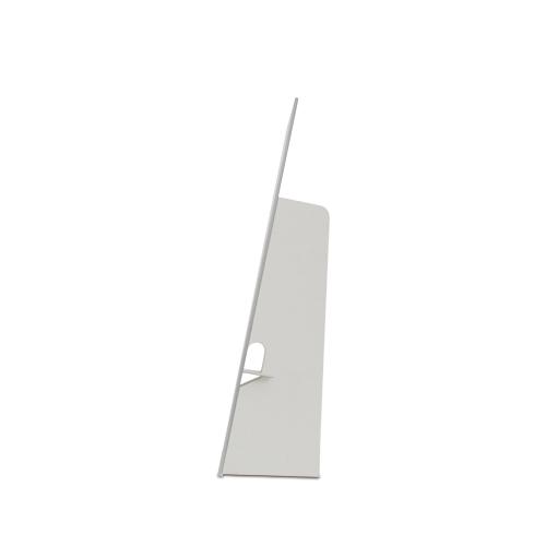 Cartello vetrina monofacciale da terra con piede posteriore