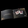 Folder autocopertinato con punti metallici