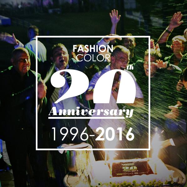 20 anni di passione e professionalità: 20 anni di Fashion Color. Ecco come li abbiamo festeggiati.