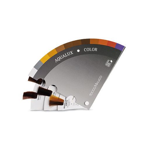 Cartella Colore a forma di ventaglio 12 ciocche