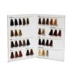 Cartella colore per parrucchieri 2 ante 35 ciocche a spazzolino