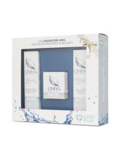Scatola finestrata in carta per linea cosmetica skin care