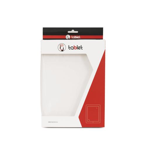 Astuccio personalizzato in cartoncino con euroforo per tablet