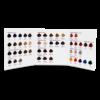 Cartella colore per parrucchieri 3 ante 49 ciocche a goccia