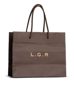 Shopper bag in carta Imitlin